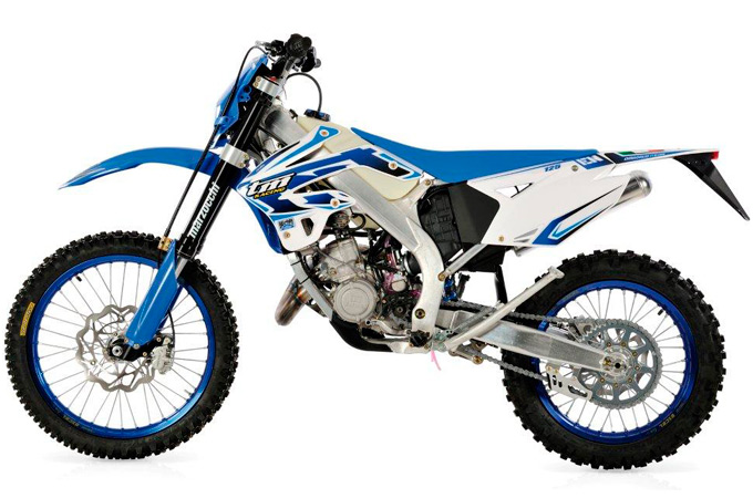 moto  enduro TM racing  125 EN
