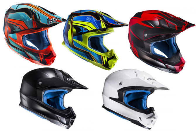 casque enduro HJC FX Cross 2