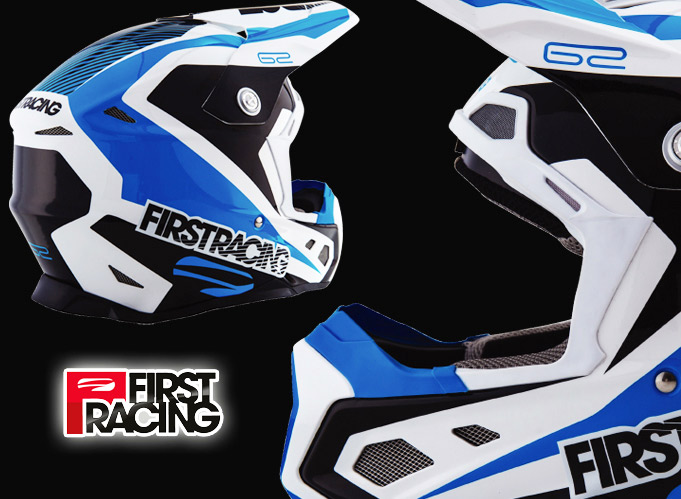 Casques moto First Racing