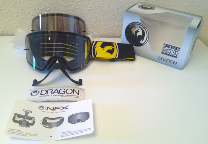 Masque enduro Dragon NFX
