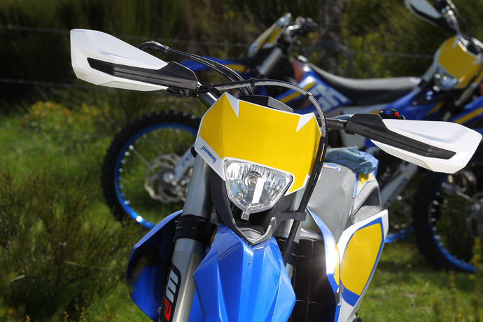 photo moto enduro Husaberg