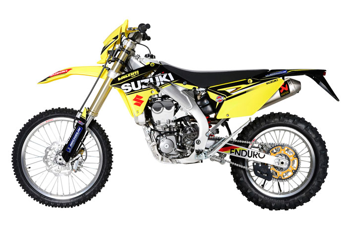 photo suzuki RME 450 enduro