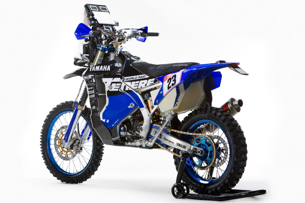 Yamaha WR450 F Rally 2018 17