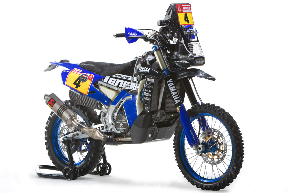 Yamaha WR450 F Rally 2018 23