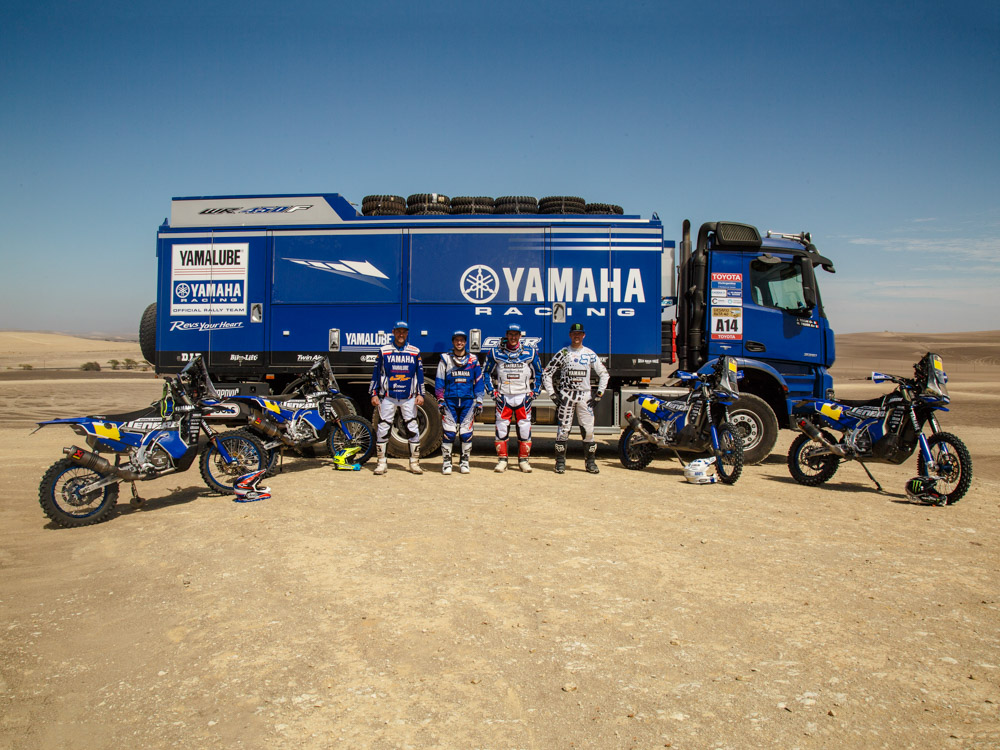 Yamaha WR450 F Rally 2018 7