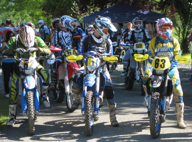 enduro de Monein 2012