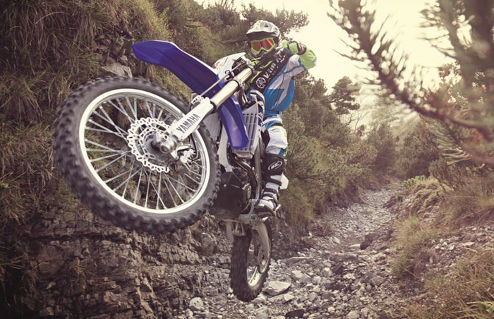 photo enduro moto Yamaha 250 WR-F