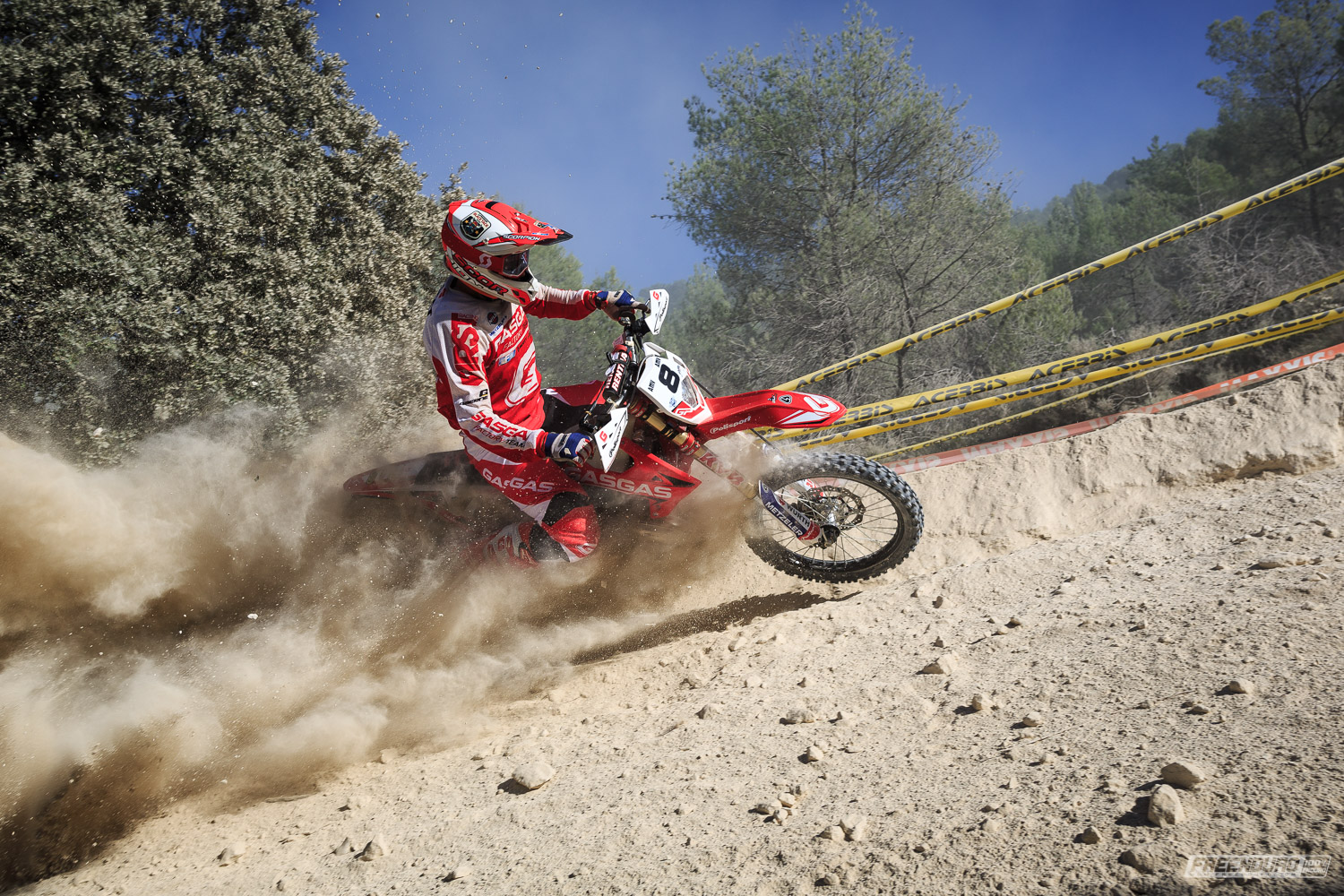 Antoine Basset photo HD enduro Gas Gas
