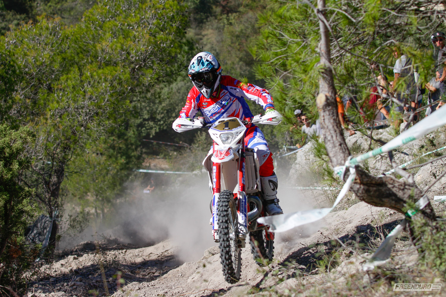 Photo enduro moto Steve Holcombe Beta