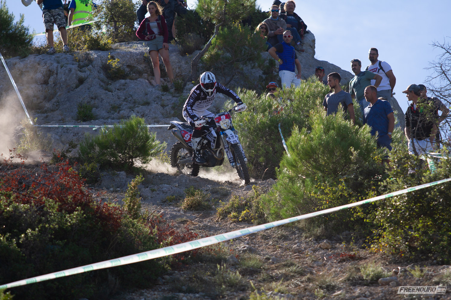 photo HD enduro Alex Salvini