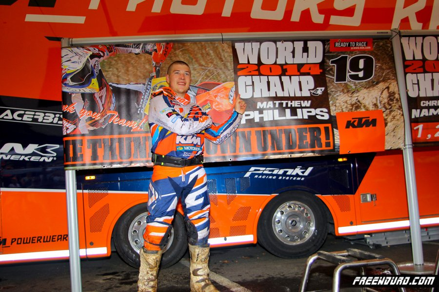 photo HD Matt Phillips KTM 2014