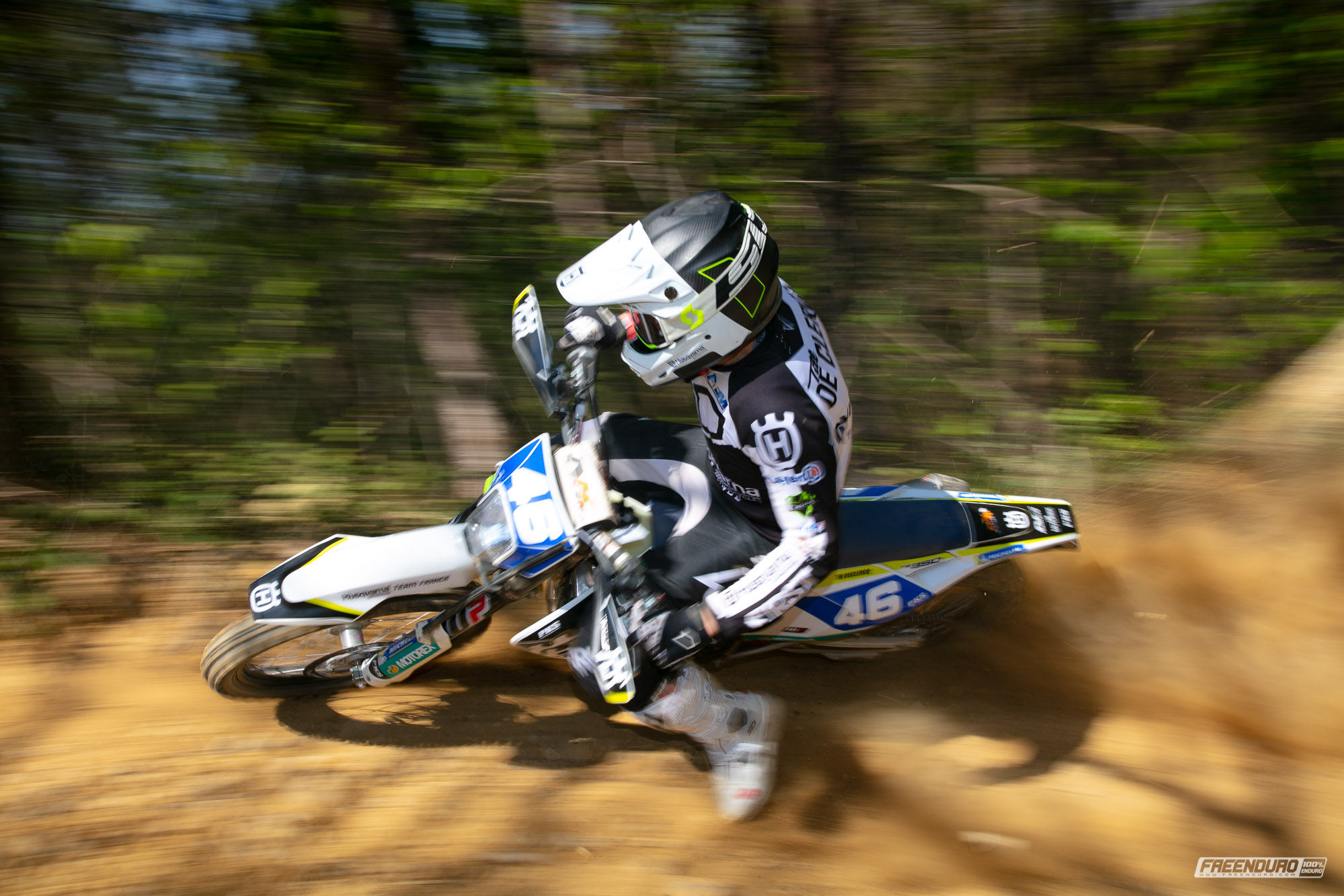 photo enduro Husqvarna : Till de Clercq