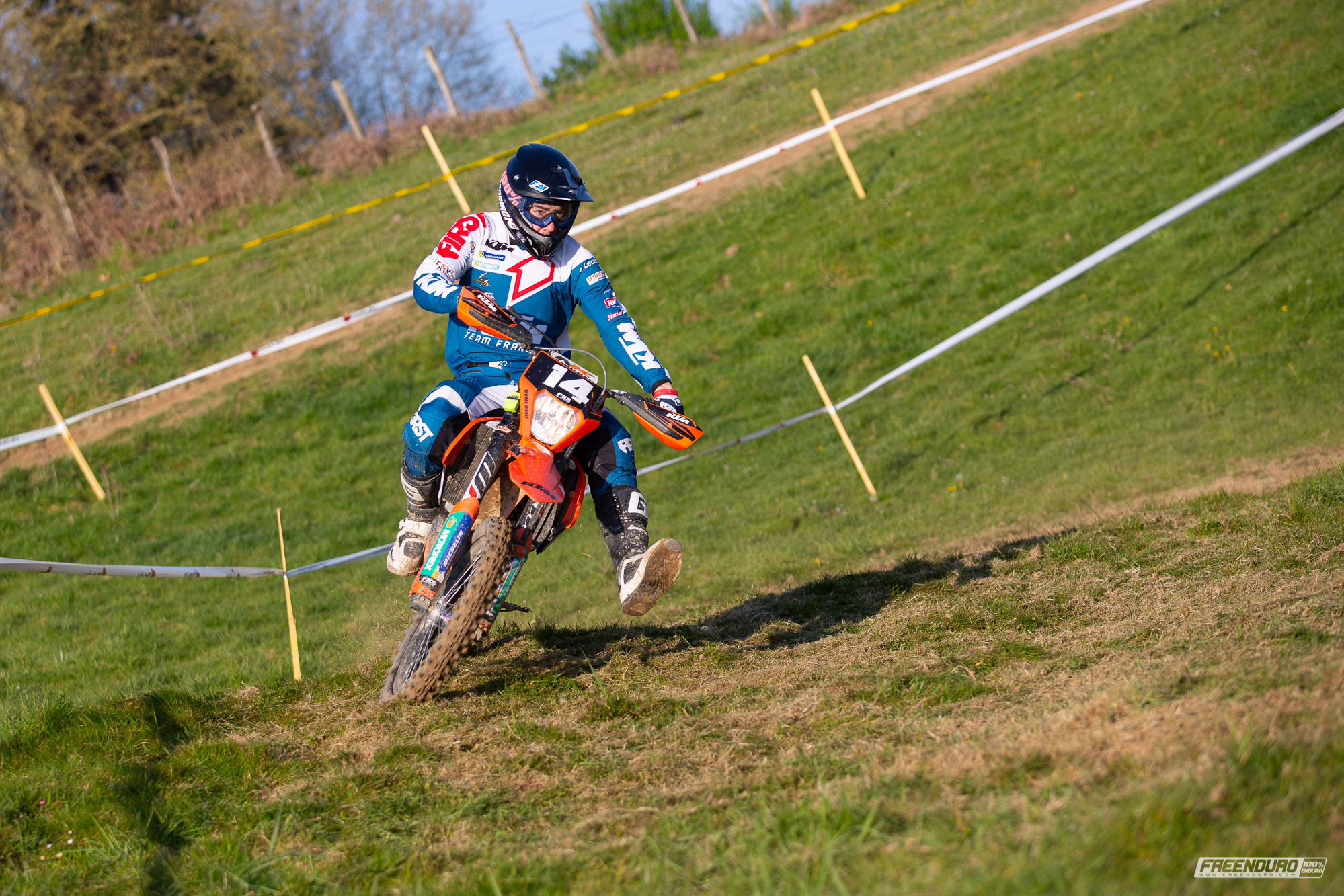 photo enduro HD : Thomas Dubost KTM 250 exc-f