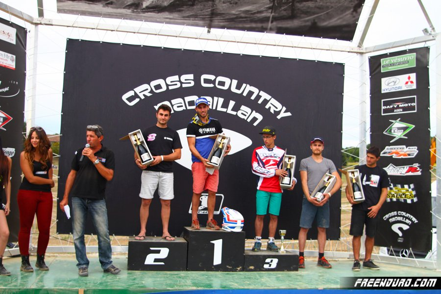 Podium scratch cross country de Madaillan