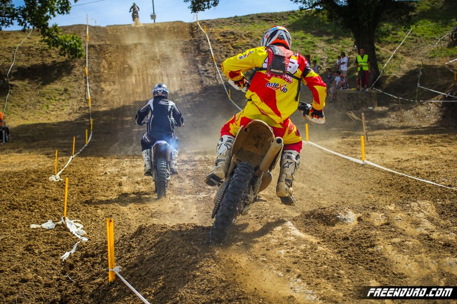 Romain Dumontier cross country Madaillan 2014