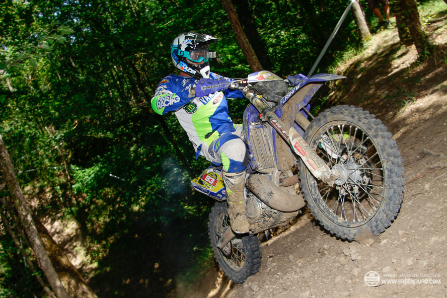 photo enduro Romain Dumontier  lors du Cross Country du DEFi MAD