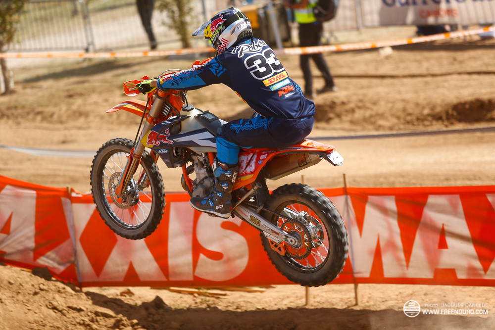 Taylor Robert pilote KTM racing Factory