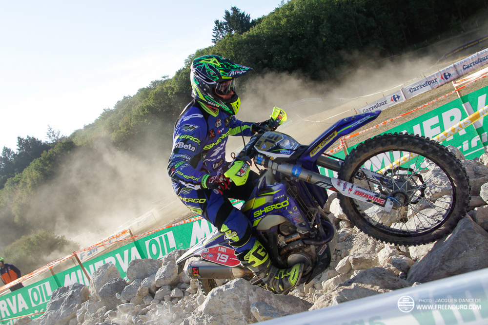 Matthew Phillips champion du monde d'enduro 2016 avec Sherco