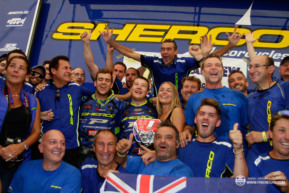 Matt Phillips  enduroGP Sherco 2017
