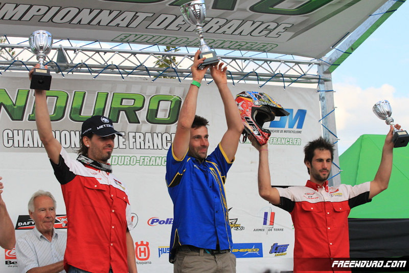le podium Enduro 1