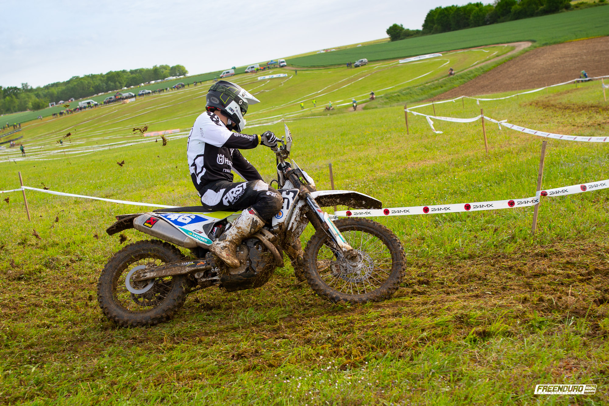 Photo moto enduro : Till de Clercq Saint Jean d'Angely 2019