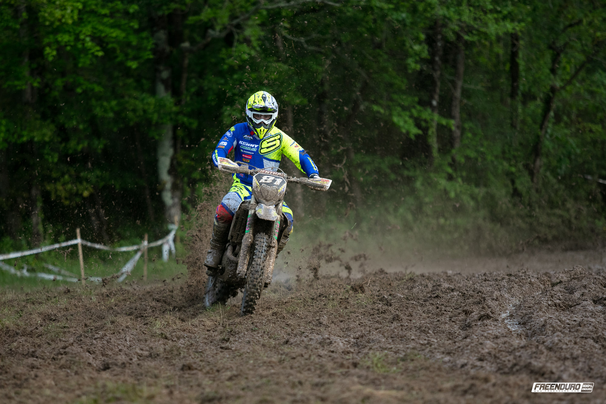 Photo Jeremy Tarroux pilote Sherco enduro