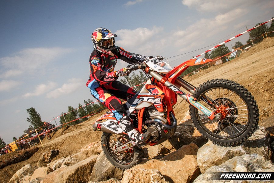 Jonny Walker Super enduro